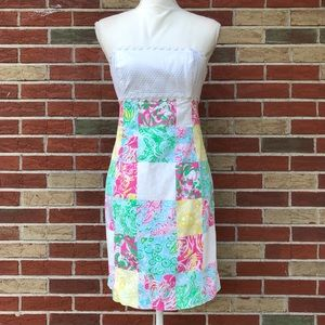 ☀️ Lilly Pulitzer Franco State Patch Ric Rac Dress